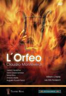 モンテヴェルディ(1567-1643)/L'orfeo: Pizzi Christie / Les Arts Florissants D.henschel Schiavo Prina