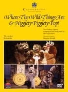 『怪獣たちのいるところ』全曲、『ヒギレッティ・ピギレッティ・ポップ』全曲 コルサロ演出、ナッセン&ロンドン・シンフォニエッタ(1984、85ステレオ)