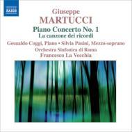 ピアノ協奏曲第1番、追憶の歌 ラ・ヴェッキア&ローマ響、コッジ、バジーニ
