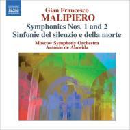交響曲第1番、第2番、静寂と死の交響曲 デ・アルメイダ&モスクワ響