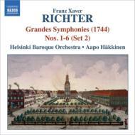 6つのシンフォニア(第2集) ハッキネン&ヘルシンキ・バロック・オーケストラ