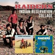 Raiders (Rock)/Indian Reservation / Collage