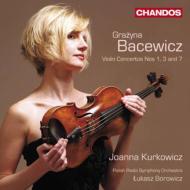 ヴァイオリン協奏曲第1番、第3番、第7番 クルコヴィチ、ボロヴィツ&ポーランド放送交響楽団