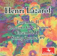String Quartet, 9, Ensemble Ii, Iii, Concerto For 2 Pianos: Berganza Sq Blaha Fitzgerald(P)Etc
