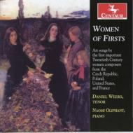 Women Of Firsts-kapralova, Bacewicz, Beach, Boulanger: Weeks(T)Oliphant(P)