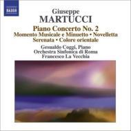ピアノ協奏曲第2番、小品集 コッギ、ラ・ヴェッキア&ローマ交響楽団