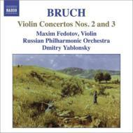 ヴァイオリン協奏曲第2番、第3番 M.フェドトフ、D.ヤブロンスキー&ロシア・フィル
