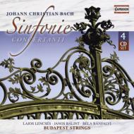 バッハ、ヨハン・クリスティアン(1735-1782)/Symfonia Concertanti: Botvay / Budapest Strings Lencses(Ob) Etc