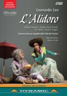 歌劇『アリドーロ』全曲 チリッロ演出、フローリオ&カペッラ・デッラ・ピエタ・デイ・トゥルキーニ、スキアーヴォ、デ・ヴィットーリオ、他(2008 ステレオ)(2DVD)