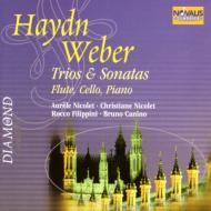 ハイドン:ロンドン三重奏曲、ヴェーバー:フルート三重奏曲、他 ニコレ、カニーノ、フィリッピーニ、他(2CD)