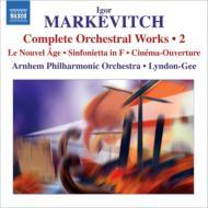 管弦楽作品全集第2集−シンフォニエッタ、新時代、シネマ序曲 リンドン=ギー&アーネム・フィル