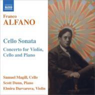 コンチェルト(ピアノ三重奏曲)、チェロ・ソナタ ダルヴァロヴァ、マギル、ダン