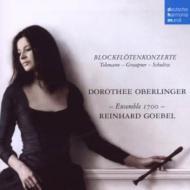 ドイツ・バロック・ブロックフレーテ協奏曲集 オベルリンガー、ゲーベル&アンサンブル1700