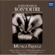Sonatas For 2 Bassoons: Musica Franca