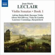 ヴァイオリン・ソナタ作品1 第1番〜第4番 バターフィールド、マクギリヴレイ、L.カミングス