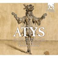『アティス』全曲 クリスティ&レザール・フロリサン、ド・メイ、ロランス、他(1987 ステレオ)(3CD)ブック仕様装丁