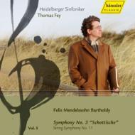 交響曲第3番『スコットランド』、弦楽のための交響曲第11番 ファイ&ハイデルベルク交響楽団