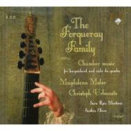 フォルクレ・ファミリー:チェンバロとヴィオラダガンバのための作品集 マレク、ウルバネッツ、マルティネス(2CD)