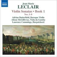 ヴァイオリン・ソナタ作品1 第5番〜第8番 バターフィールド、マクギリヴレイ、L.カミングス