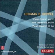 Piano Quintet, Quartet: Bjorkoe(P)J.s.hansen Balk-moller(Vn)Gron(Va)Brendstrup(Vc)