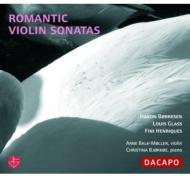 Violin Sonata: Balk-moller(Vn)Bjorkoe(P)+l.glass, Henriques