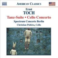 Tanz-suite, Cello Concerto: Carroll / Spectrum Concerts Berlin Poltera(Vc)