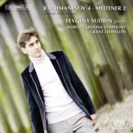 ラフマニノフ:ピアノ協奏曲第4番(原典版)、メトネル:ピアノ協奏曲第2番 スドビン、レウェリン&ノースカロライナ響