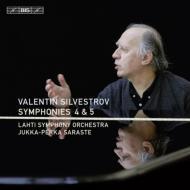 交響曲第4番、第5番 サラステ&ラハティ交響楽団