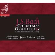 バッハ(1685-1750)/Weihnachts-oratorium: Veldhoven / Netherlands Bach Society (Hyb)
