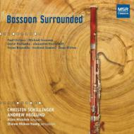 Bassoon Surrounded-20th Century Music For Bassoon & Percussion: Schillinger(Fg)Etc