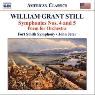 交響曲第4番『先住民族』、第5番『西半球』、詩曲 ジーター&フォート・スミス交響楽団