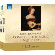 リュート音楽集BOX ナイジェル・ノース(4CD)