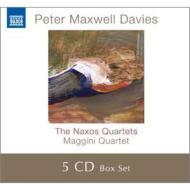 ナクソス四重奏曲全集 マッジーニ四重奏団(5CD)