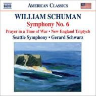 交響曲第6番、戦時の祈り、ニュー・イングランド三部作 シュウォーツ&シアトル交響楽団