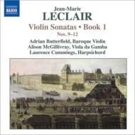 ヴァイオリン・ソナタ作品1 第9番〜第12番 バターフィールド、マクギリヴレイ、L.カミングス
