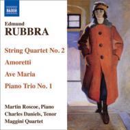 弦楽四重奏曲第2番、声と弦楽四重奏のための『アモレッティ』、他 マッジーニ四重奏団、ダニエルズ、他