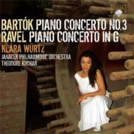 バルトーク:ピアノ協奏曲第3番、ラヴェル:ピアノ協奏曲 ヴュルツ、クチャル&ヤナーチェク・フィル