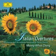 イタリア・オペラ序曲集 チョン・ミョンフン&聖チェチーリア国立音楽院管弦楽団