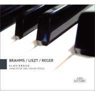 Brahms Haydn Variations, Reger Beethoven Variations, Hans-Peter & Volker Stenzl