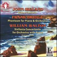 Piano Concerto: Stott(P)Handley / Rpo +bridge, Walton