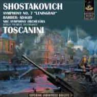 ショスタコーヴィチ:交響曲第7番『レニングラード』、バーバー:アダージョ トスカニーニ&NBC響(1942)