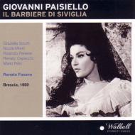 『セヴィリャの理髪師』全曲 ファザーノ&ローマ合奏団、シュッティ、パネライ、他(1959 モノラル)(2CD)