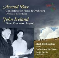 Piano Concerto : Bebbington(P)D.Curtis / O of The Swan +Ireland