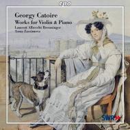 ヴァイオリンとピアノのための作品集 ブロイニンガー(vn)、ザッシモワ(p)