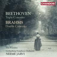 ベートーヴェン:三重協奏曲、ブラームス:二重協奏曲 トリオ・ポセイドン、ヤルヴィ&エーテボリ響