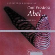 Overtures, Sinfonias: Dombrecht / Il Fondamento