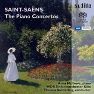 Complete Piano Concertos : Malikova, T.Sanderling / Cologne Radio Symphony Orchestra (2SACD Hyb)