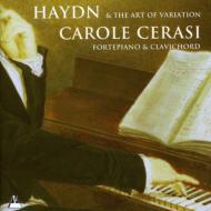 ハイドン(1732-1809)/Piano Sonata Andante & Variations: Cerasi(Fp Clavichord)