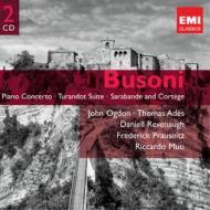 ピアノ協奏曲(オグドン、リヴィノー&ロイヤル・フィル)、トゥーランドット組曲(ムーティ&スカラ座フィル)、他(2CD)