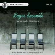 String Quartet, 4, : Lagos Ensemble +keuris: String Quartet, 1,